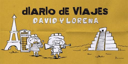 Lorena y David de viaje