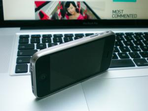 iPhone 3GS Casing Titaniu