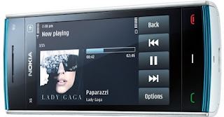 nokia x6 come with music