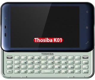 Smartphone Thosiba K01