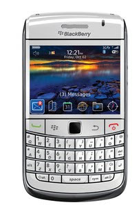 Blackberry onyx white version