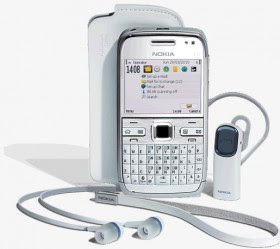 nokia E72 white version