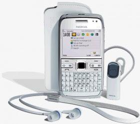 Nokia E72 putih white
