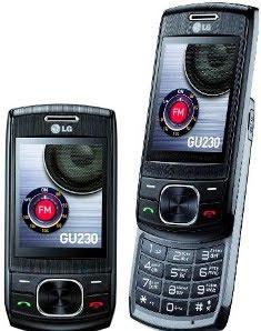LG GU230 Slide