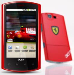 Acer E liquid Ferrari