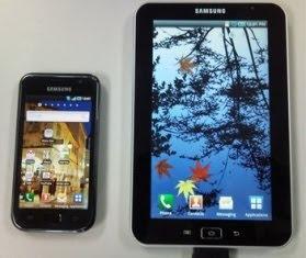 tablet samsung Galaxy Tape