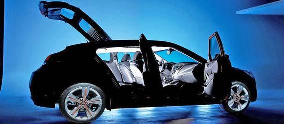 Hyundai Veloster Coupe 2011. Look Design Hyundai Veloster