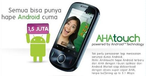 "Offer ""AHAtouch "" Android CDMA Phone From Esia With Complete Feature"