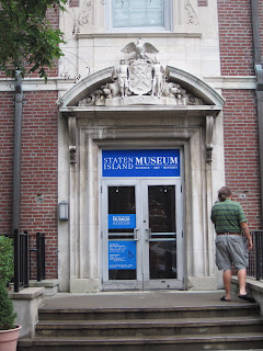 New York City Museum-a-thon: Staten Island Museum / Noble ...