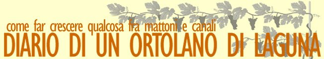 diario di un ortolano di laguna