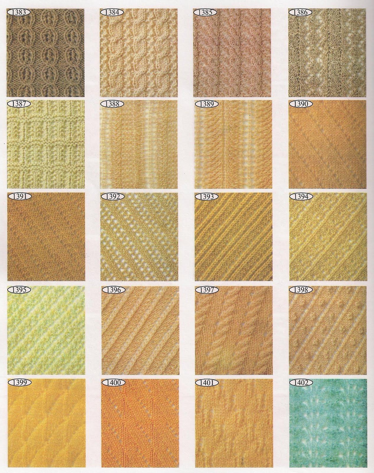 Скачать торрент 2000 эксклюзивных узоров для вязания (2000) 84