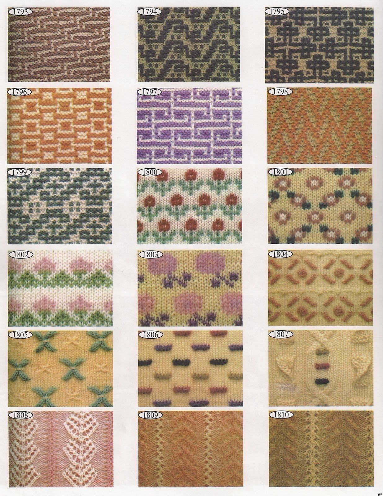Скачать торрент 2000 эксклюзивных узоров для вязания (2000) 64