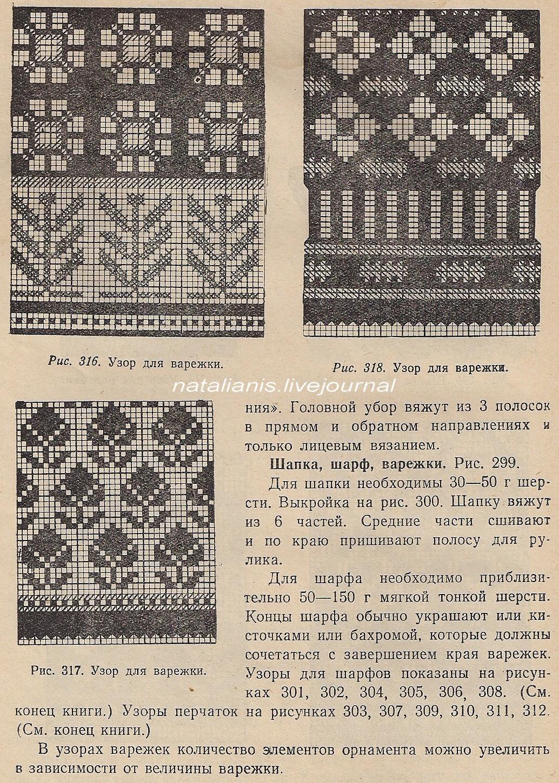 Узоры из старых книг по вязанию