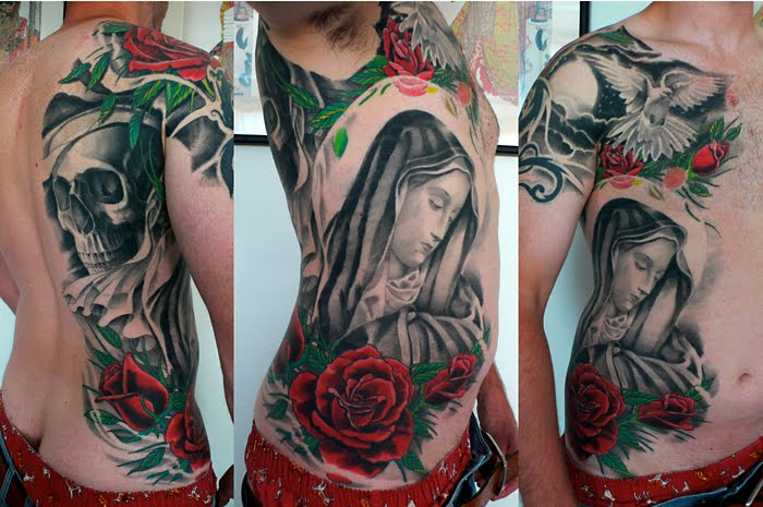 Cincinnati based artist Kore Flatmo began his career as a tattoo artist in