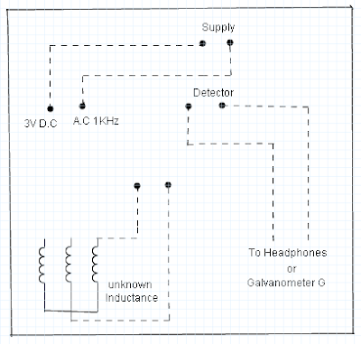 Anderson Bridge Connection Diagram as in Kit