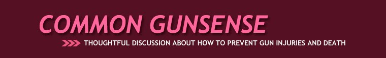 Common Gunsense  A blog to advocate for sensible gun legislation