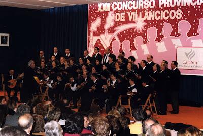 XXII Concurso Provincial de Villancicos - CajaSur