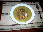 A Hearty  Winter Soup dish