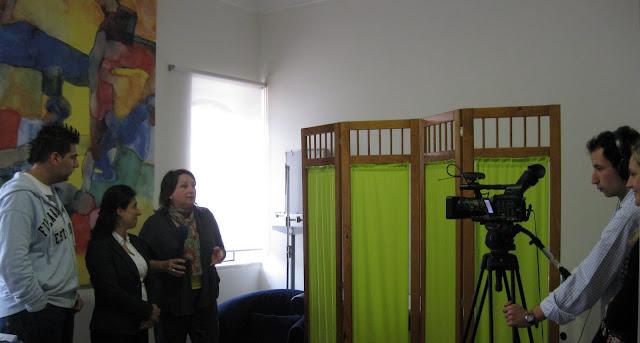 Isa Fonseca, Ana Brilha e Tibas em entrevista ao Canal C