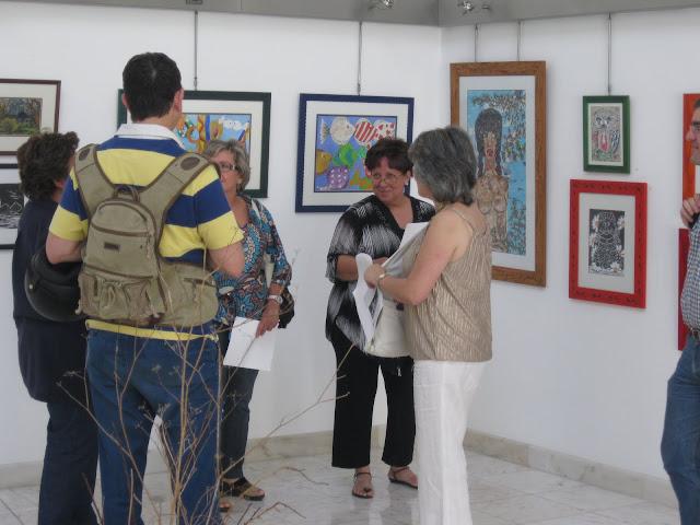 Inauguração das exposições de Marques Valentim e São Passos
