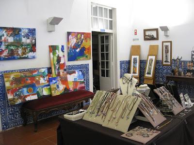 """1º dia de """"Stock Art - Mercado de Arte Solidário"""""""
