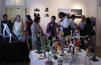 """2º dia de """"Stock Art - Mercado de Arte Solidário"""""""