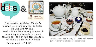 Dia 31 de Janeiro é obrigatório beber um chá!