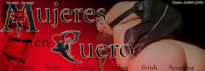 Mujeres en cuero. Leather woman.