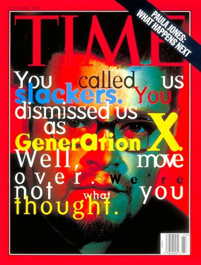 describing generation x and generation y Generation x or gen x is the demographic cohort following the baby boomers and preceding the millennialsthere are no precise dates for when generation x starts or ends demographers and researchers typically use birth years ranging from the early-to-mid 1960s to the early 1980s.