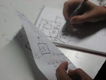 dibujando el diseño del espacio
