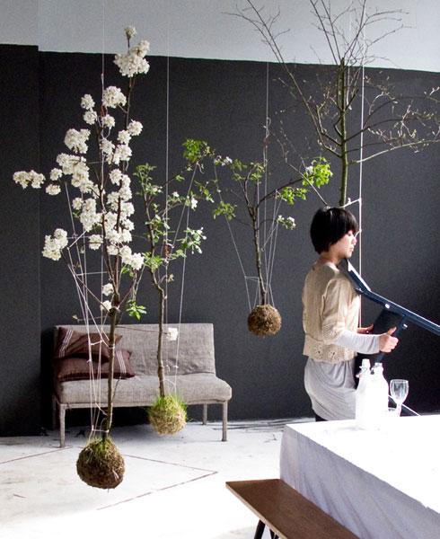Modern Wedding Decor Hanging Gardens