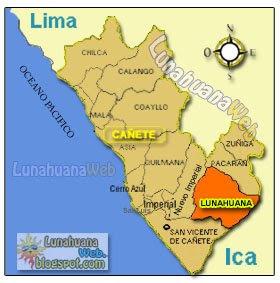 Lunahuaná: uno de los 16distritos de Cañete