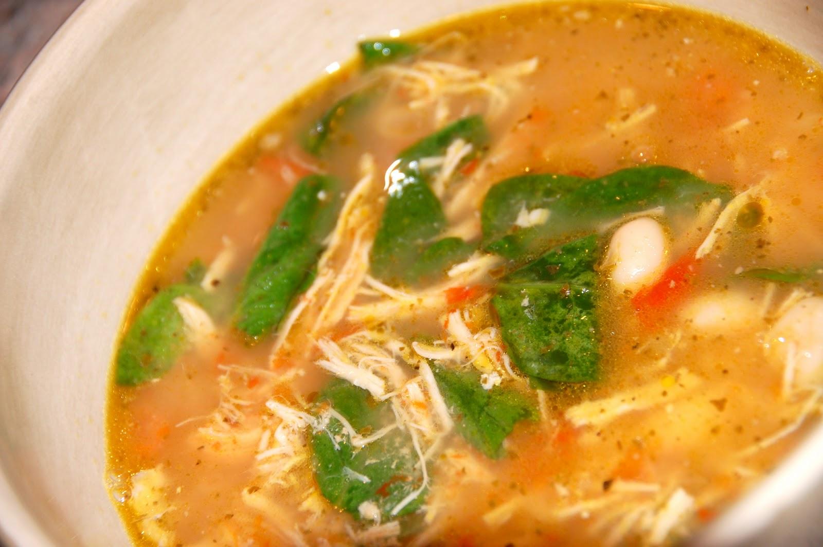 The Howard Family Blog: White Bean Pesto Soup