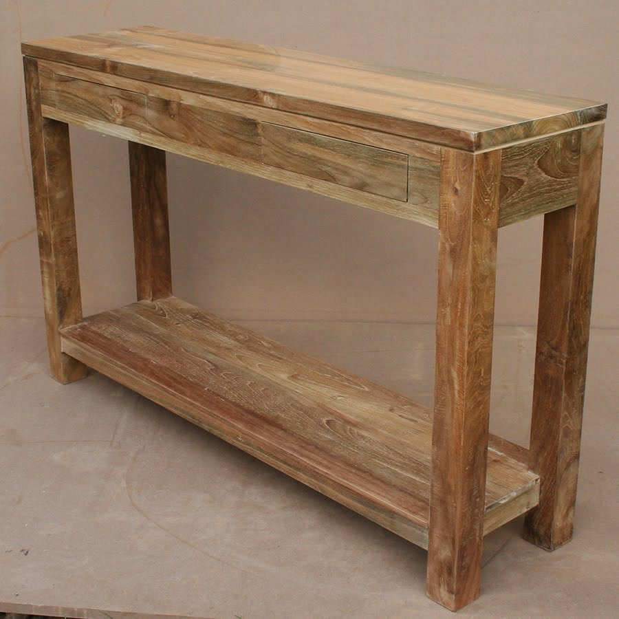 Furniture from reclaimed wood design ideas