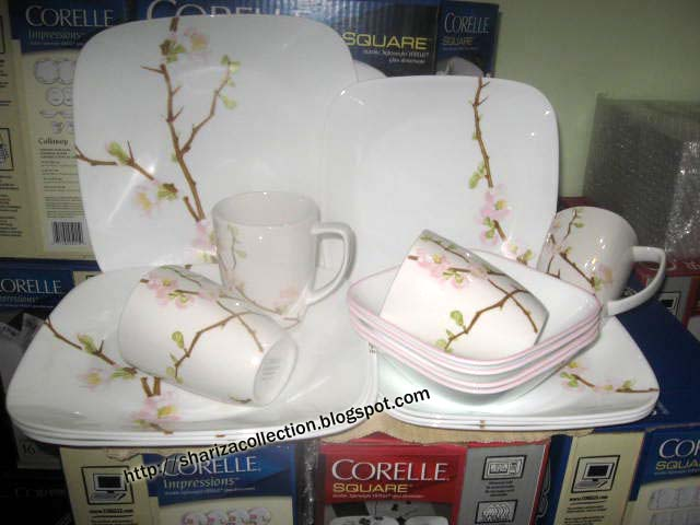 This lovely cherry blossom and vine pattern offers a fresh look with soft pinks and browns. : corelle cherry blossom dinnerware - pezcame.com