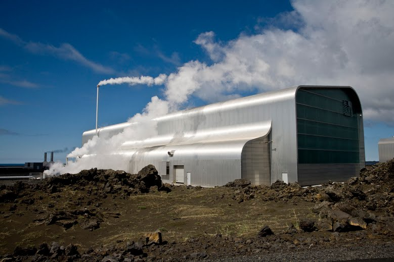 Reykjanes Power Station ~ Geothermal Power Plant