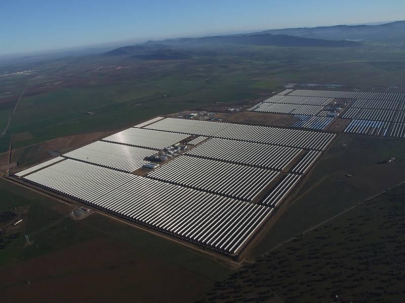 solar power tower spain. The Extresol Solar Power