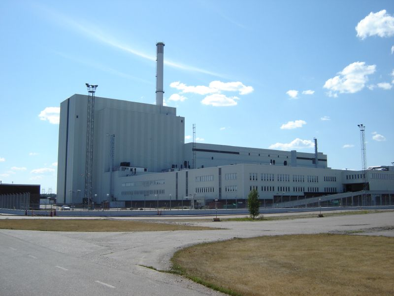 Millstone Nuclear Power Plant. Forsmark Nuclear Power Plant