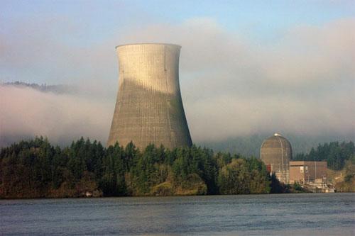 nuclear power. Trojan Nuclear Power Plant