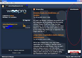 Woopra Software Main Page