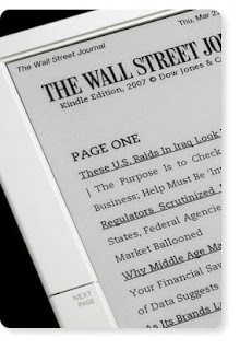Wall Street Journal Through Amazon Kindle