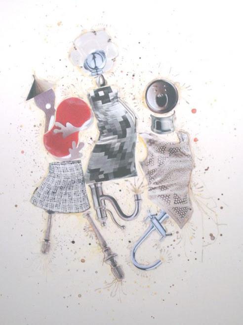 collage 60 x 80 cm