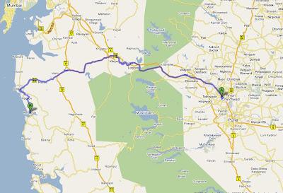 map to revdanda