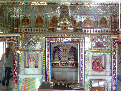 Jain temple near Revdanda Paras Darshan