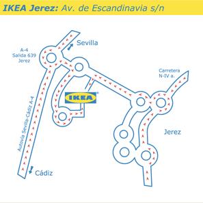 MAPA IKEA JEREZ