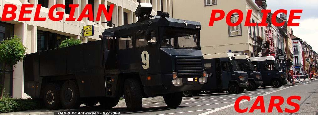 BELGIAN POLICE CARS
