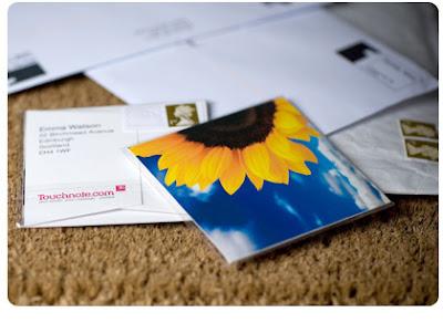 greetings card post valentine
