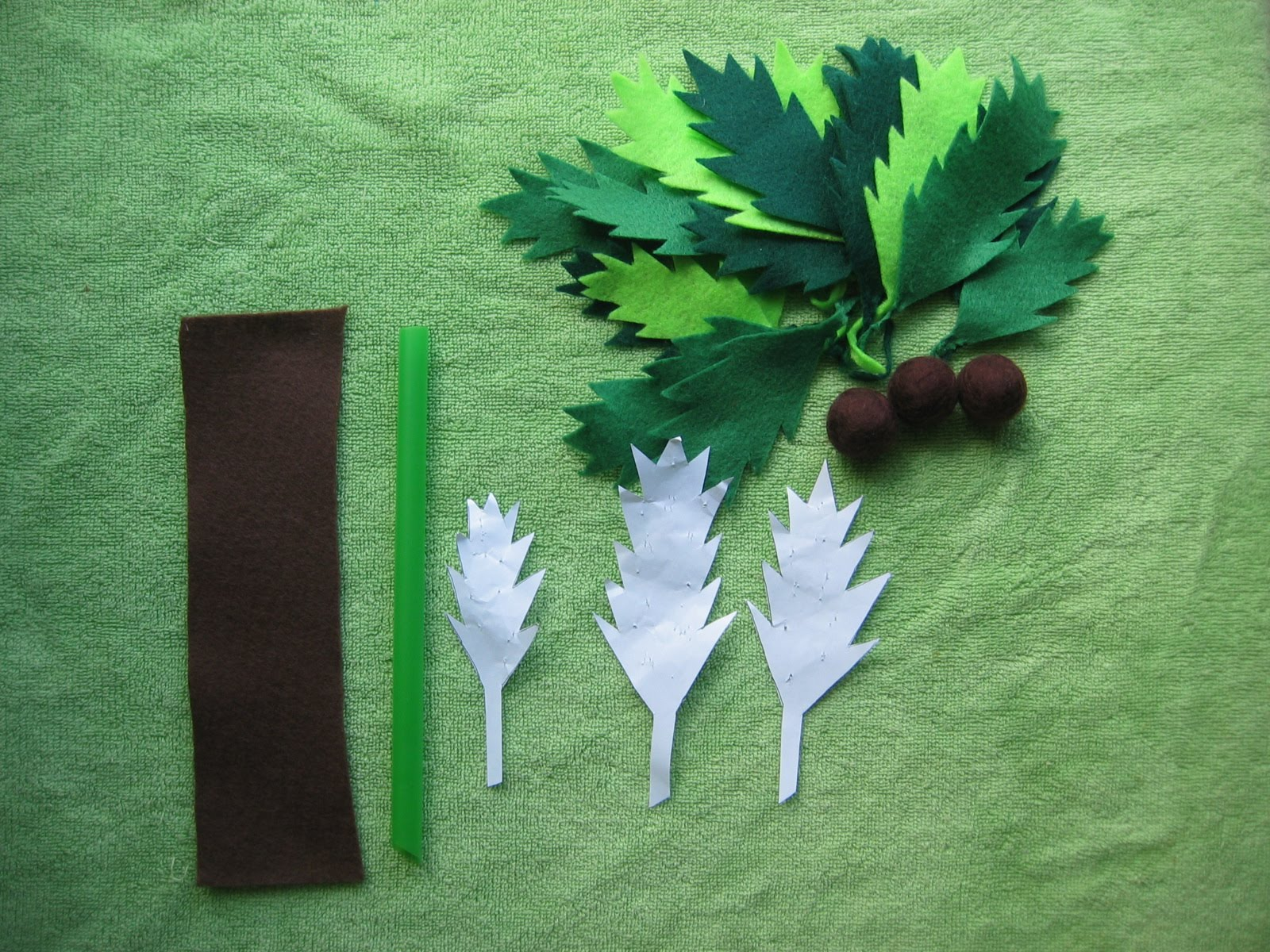 how to make a palm tree