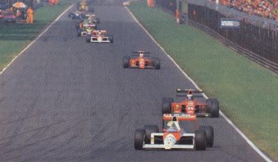 GP da Itália de Formula 1, Monza, em 1989 - arthurferreiratiocaju.blogspot.com