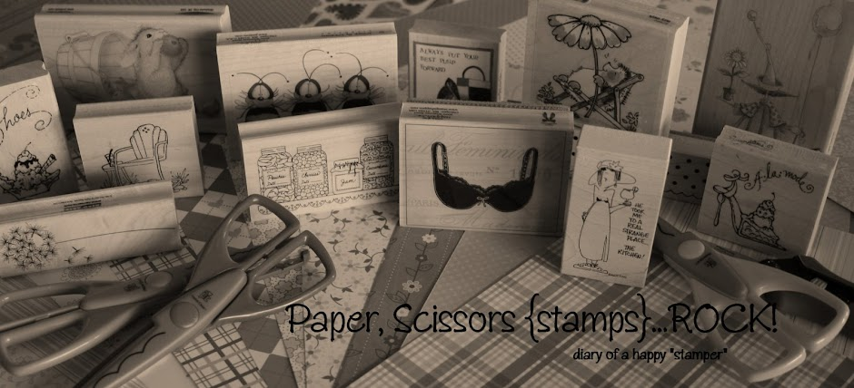 Paper, Scissors {Stamps}...ROCK!